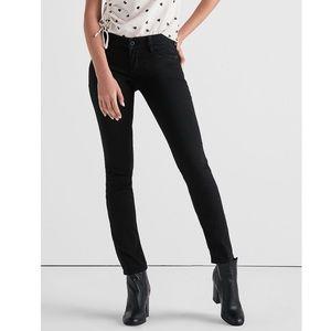 Lucky Brand Lolita Black Skinny Jeans Size 2